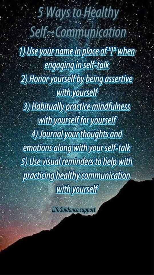 Self-Communication 4